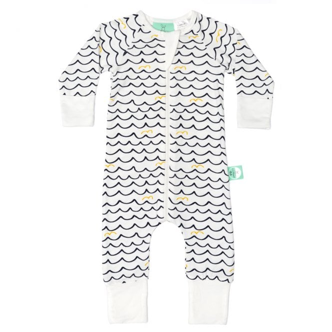 Bamboo Layers Long Sleeve Sleep Wear 0.2 Tog - Waves