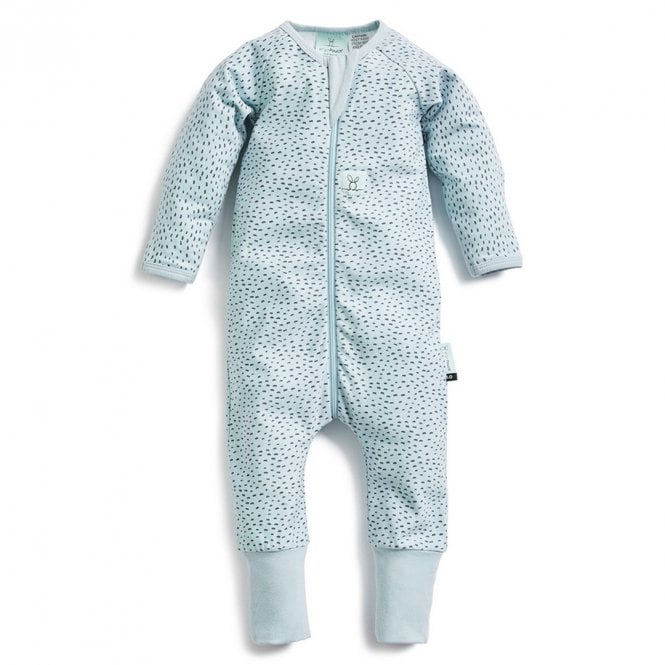 Bamboo Layers Long Sleeve Sleep Wear 1.0 Tog - Pebble - 1 Year