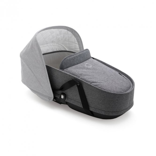 Bee 5 Classic Collection Carrycot Complete - Grey Melange