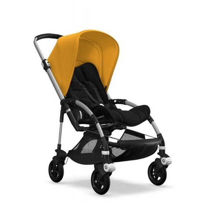 Bee 5 Pushchair - Aluminium / Black / Sunrise Yellow