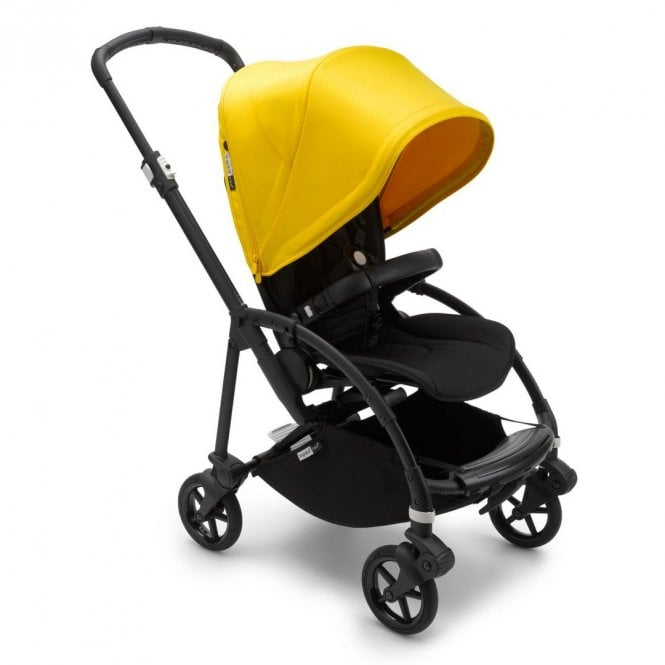 Bee 6 Pushchair - Black / Black / Lemon Yellow