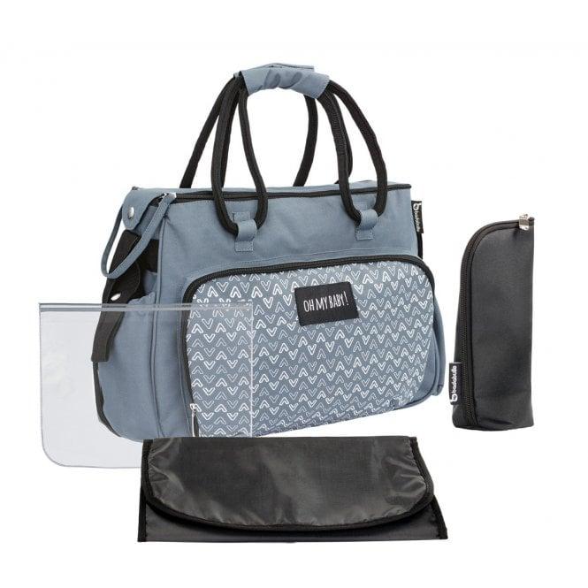 Boho Changing Bag - Grey