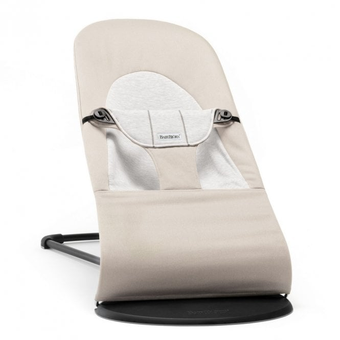 Bouncer Balance Soft - Cotton Jersey - Beige / Grey