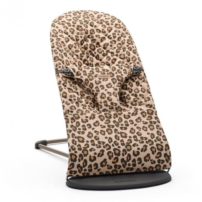 Bouncer Bliss - Cotton - Beige + Leopard