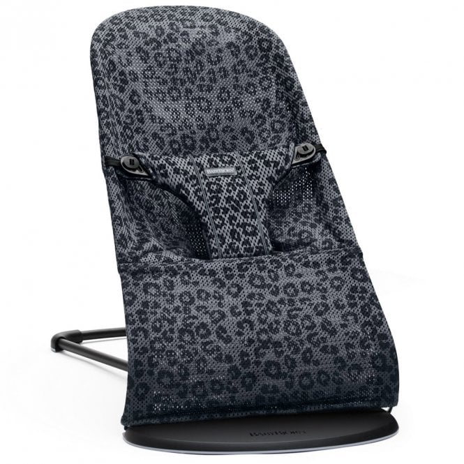 Bouncer Bliss - Mesh - Anthracite Leopard