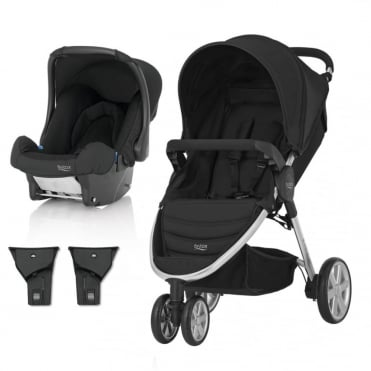 B-Agile 3 Travel System + Baby Safe