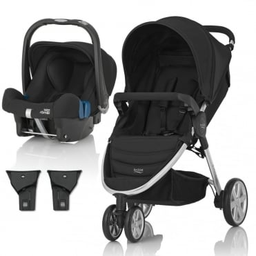 B-Agile 3 Travel System + Baby Safe Plus SHR II