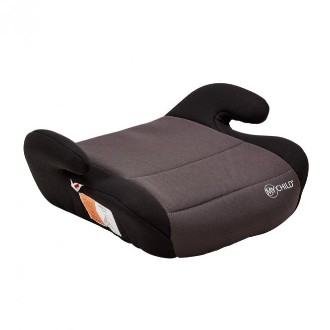 Brundle Booster Seat - Grey / Black