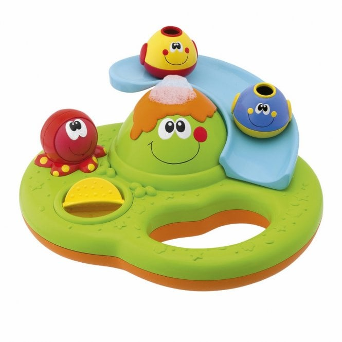 Bubble Island Bath Toy