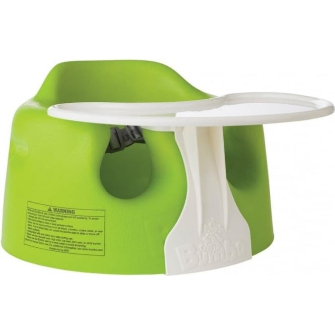 Bumbo Floor Seat and Play Tray Combo