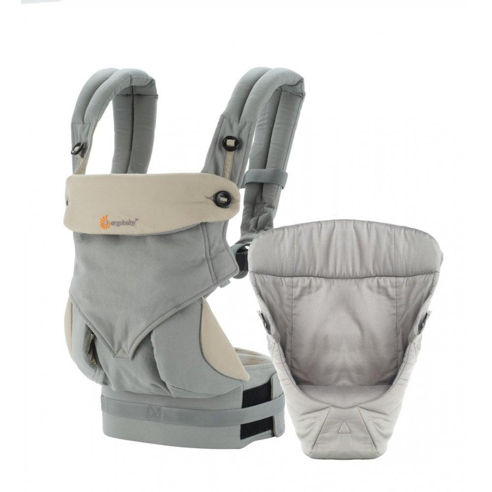 c1beea30e12 Ergobaby Bundle Of Joy Four Position 360 Baby Carrier + Easy Snug Infant  Insert