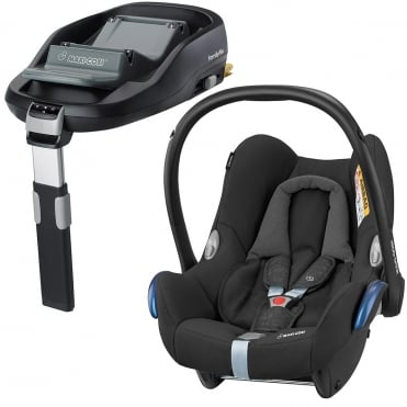 CabrioFix Car Seat + FamilyFix Base