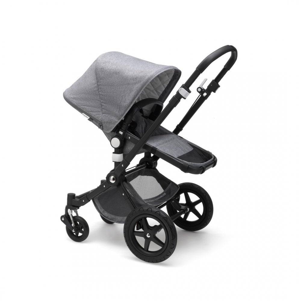 Cameleon 3 Plus Classic Collection Pushchair Black Chassis Grey Melange