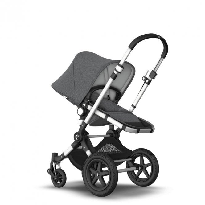 Cameleon 3 Plus Pushchair Aluminium - Grey Melange