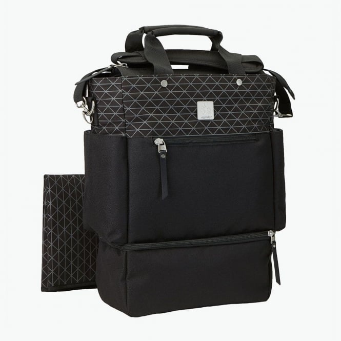 Carry on: Convertible Change Bag - Geo Black