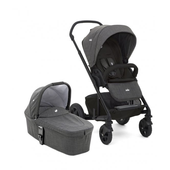 Chrome DLX Pushchair & Carrycot