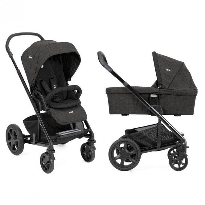 Chrome DLX Pushchair & Carrycot - Pavement
