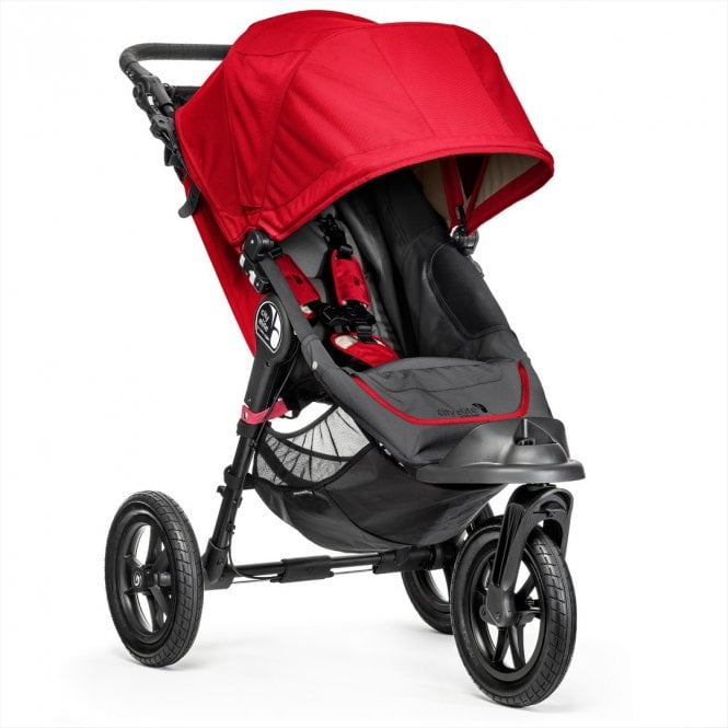 City Elite Stroller - Red