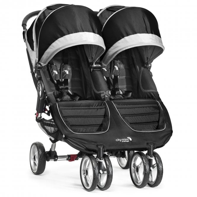 Baby Jogger City Mini Double Stroller - Black | Twin Buggy ...