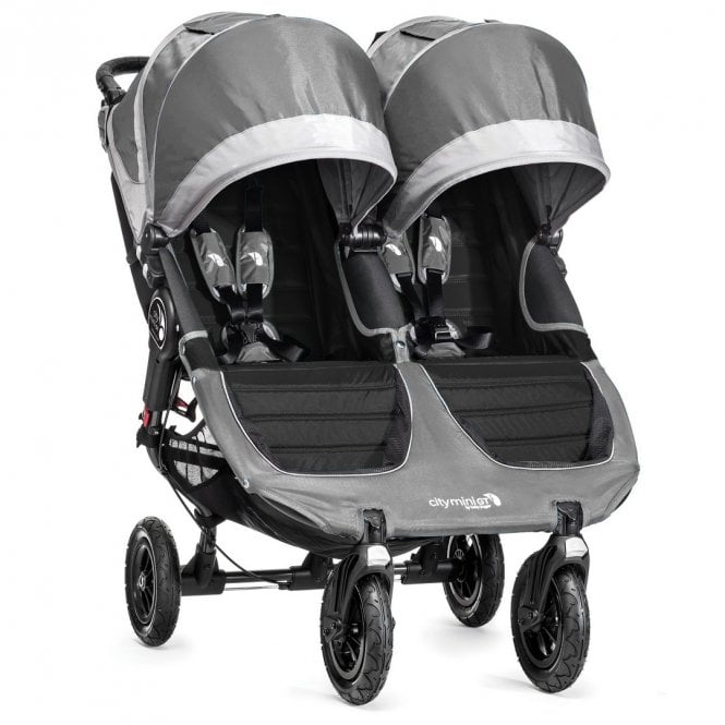 City Mini GT Double Stroller - Steel Grey (Discontinued 17 April 2020)