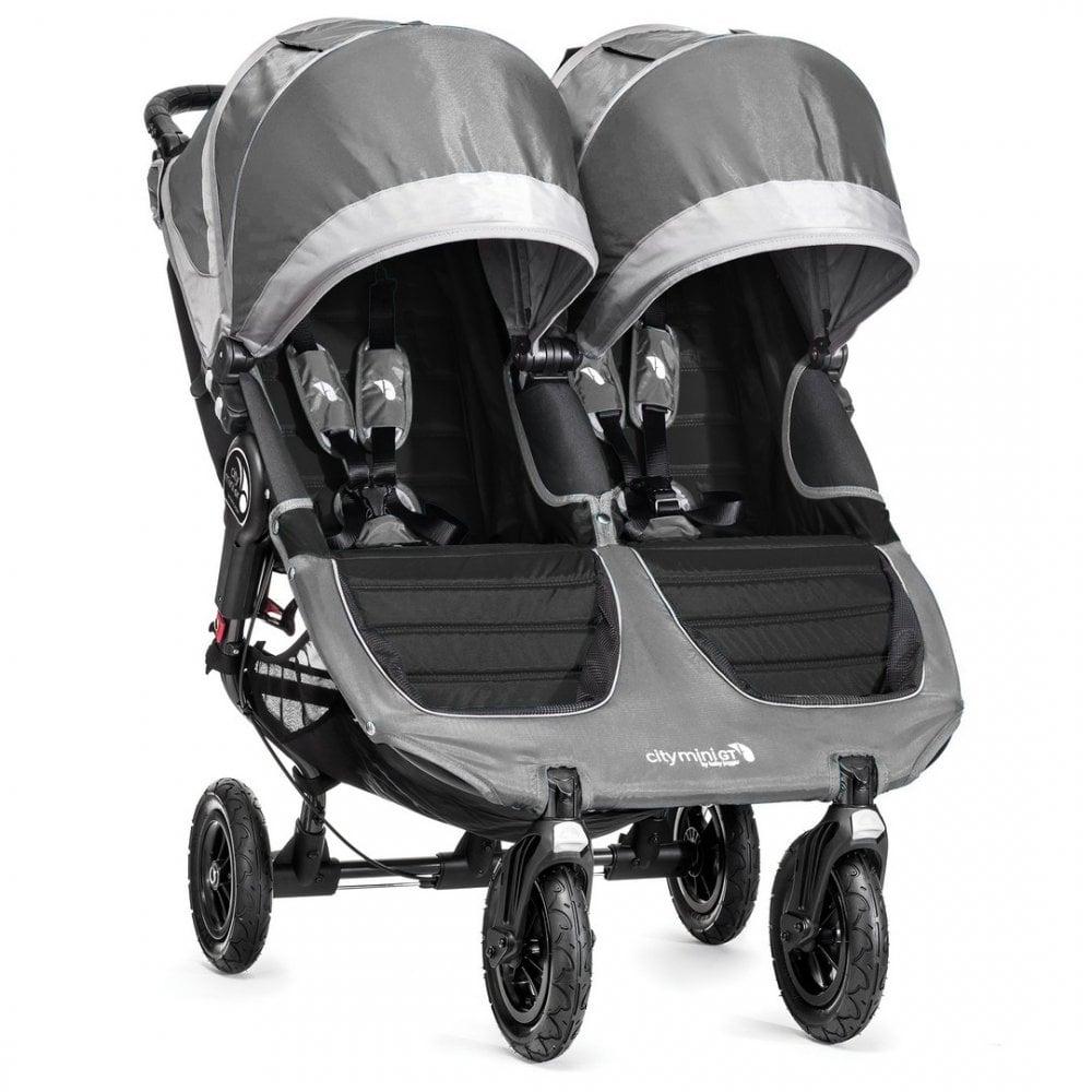 Baby Jogger City Mini GT Double Stroller - Steel Grey ...