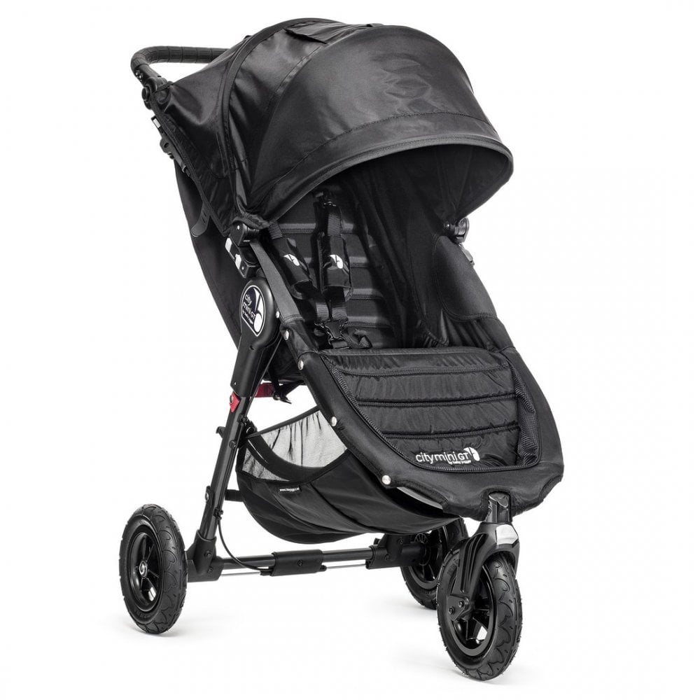 Baby Jogger City Mini Gt Single Stroller Black Buggybaby