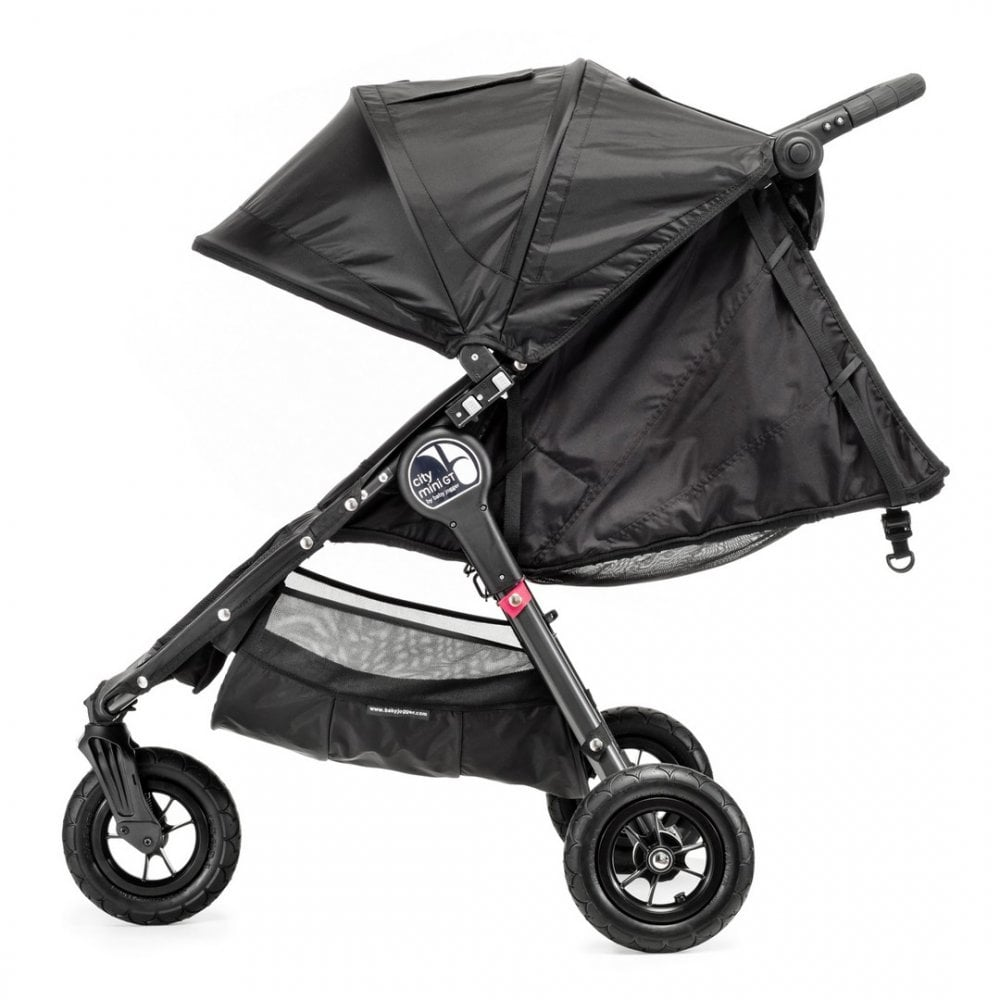 City Mini Gt Single Stroller Black