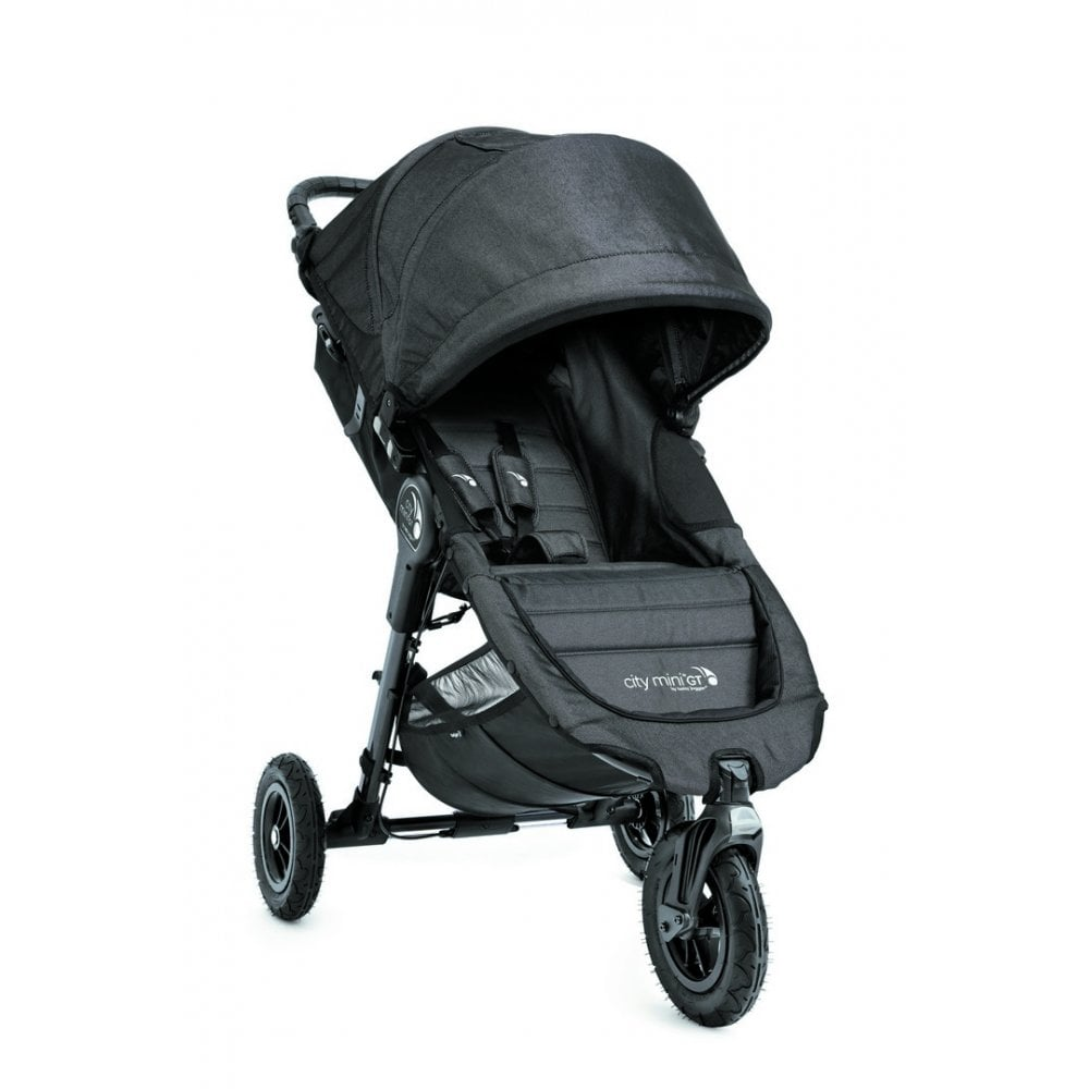 Baby Jogger City Mini Gt Single Stroller Charcoal Denim
