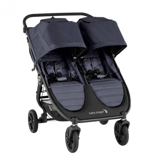 City Mini GT2 Double Stroller- Carbon