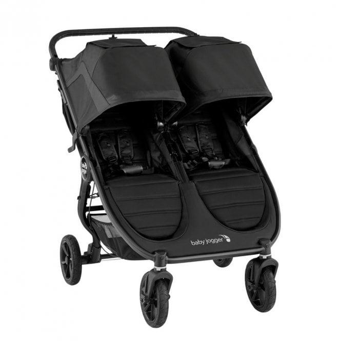 City Mini GT2 Double Stroller- Jet