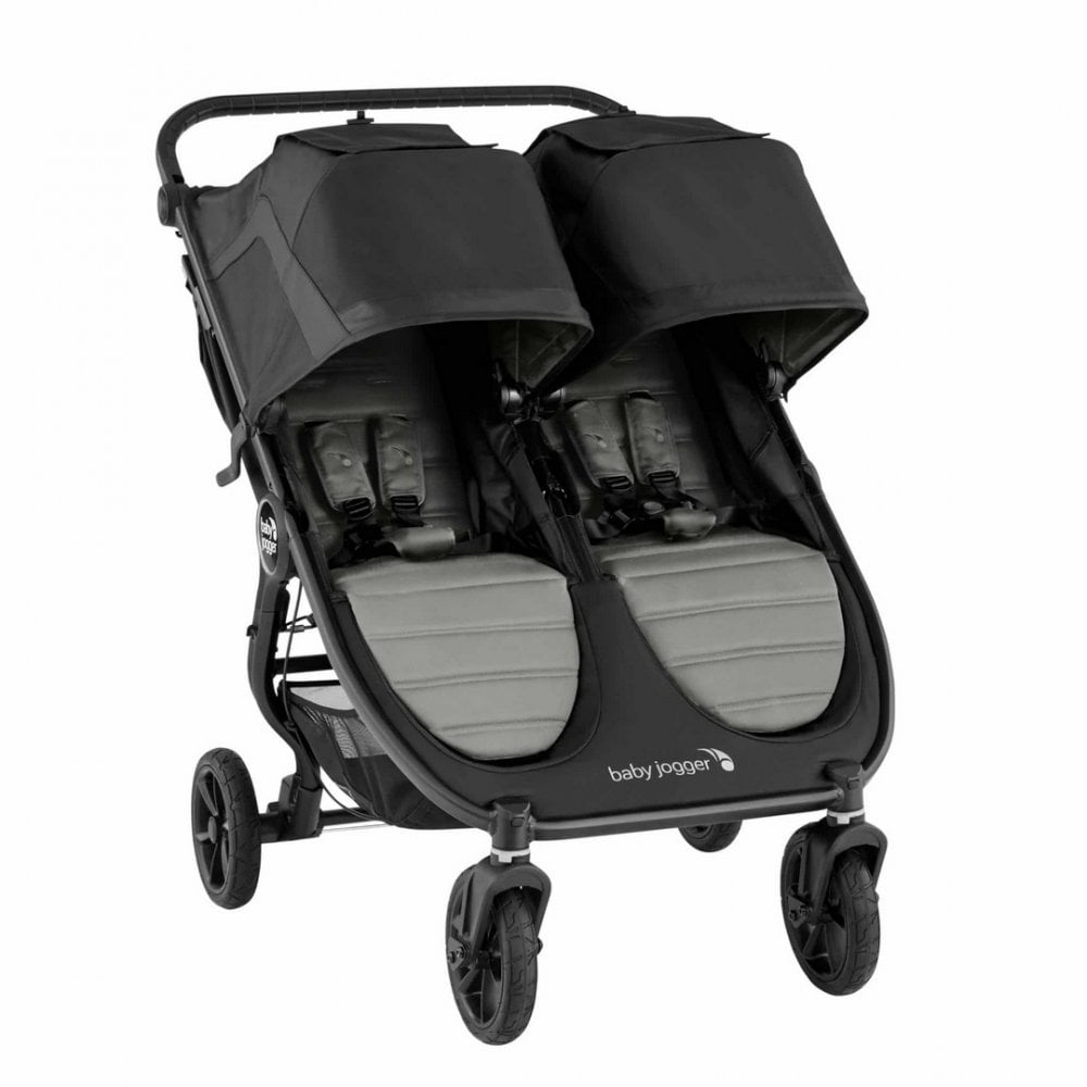 Baby Jogger City Mini GT2 Double Pushchair - Slate | BuggyBaby