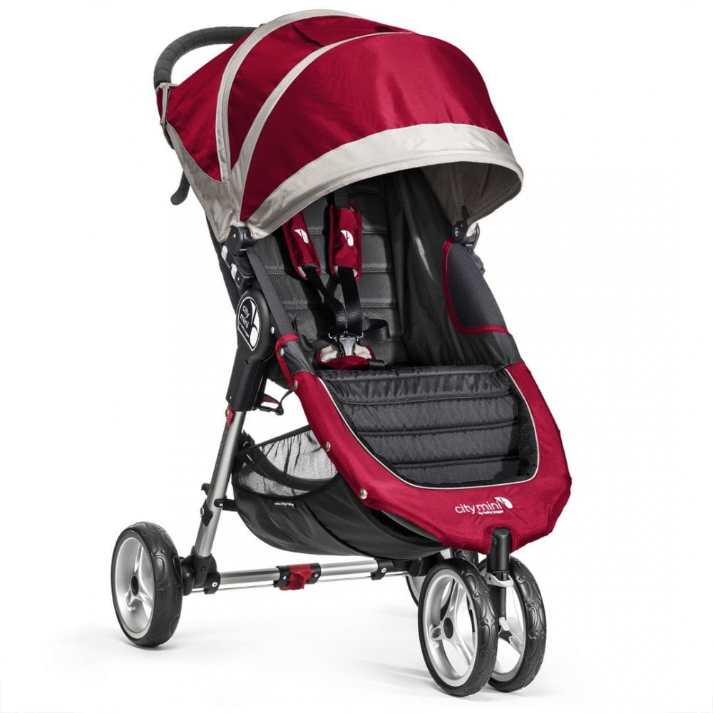 Baby Jogger City Mini Stroller - Crimson | Pushchairs ...