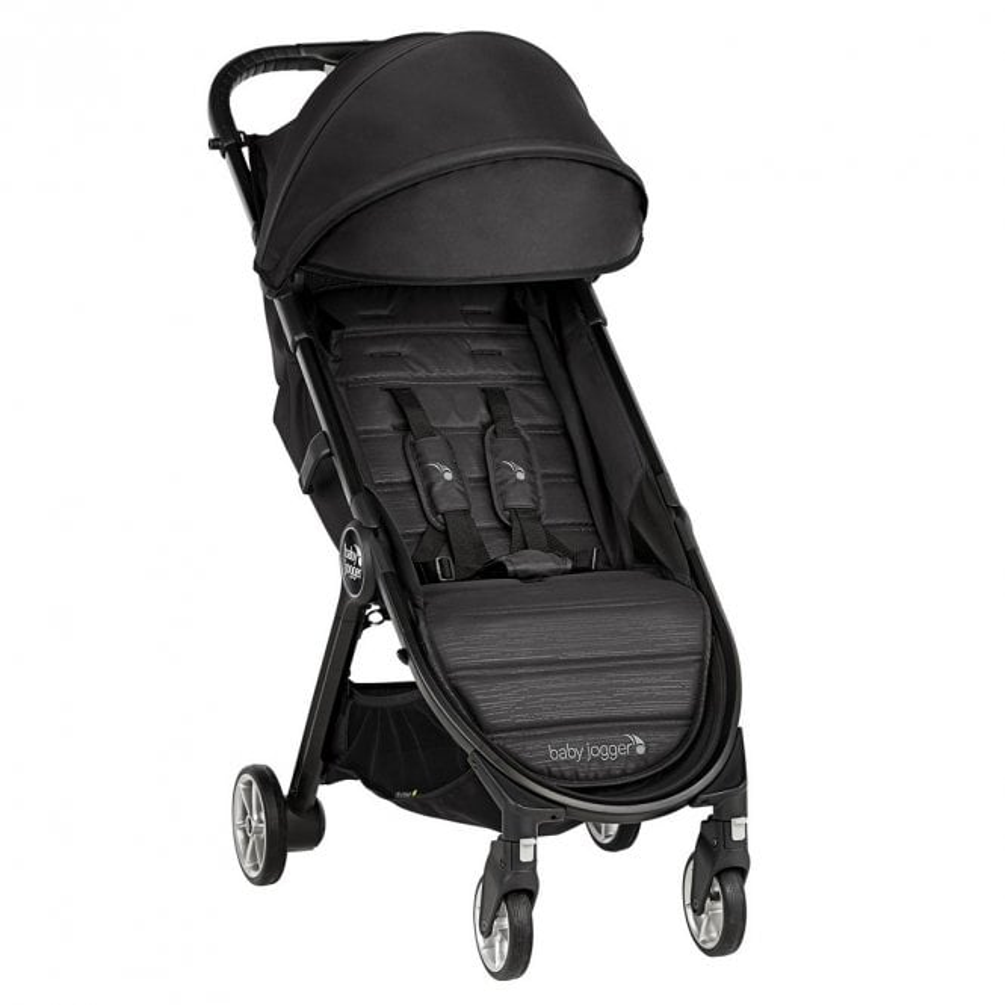 City Tour 2 Compact Fold Stroller - Pitch Black
