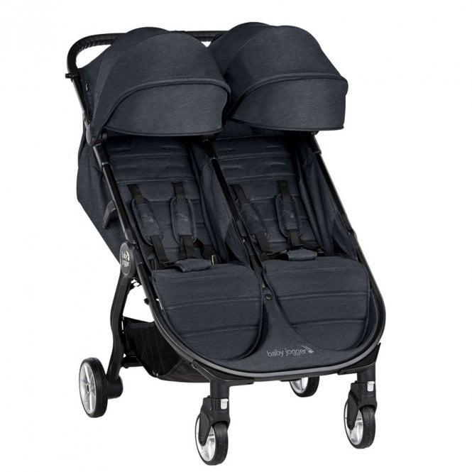 City Tour 2 Double Stroller - Carbon
