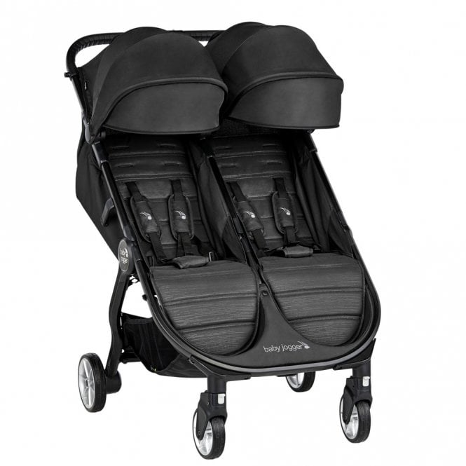Baby Jogger City Tour 2 Double Stroller - Jet | Twin Buggy ...