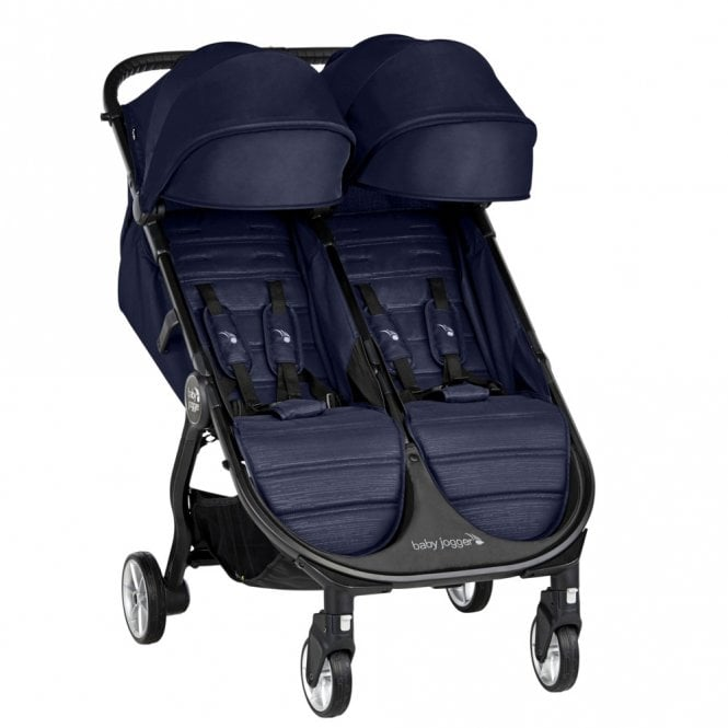 City Tour 2 Double Stroller - Seacrest