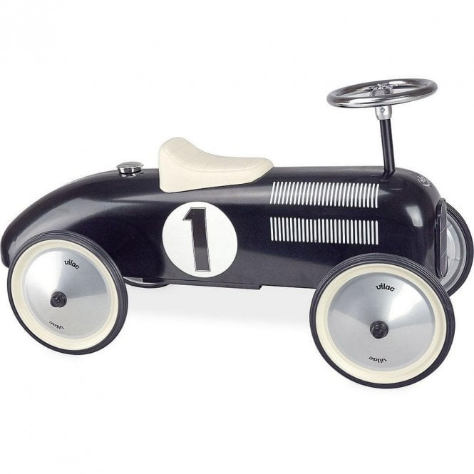 Classic Vintage Ride On Car - Black
