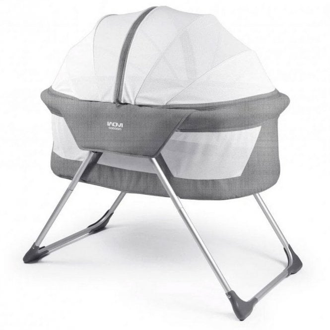 Cocoon Travel Cot - Grey