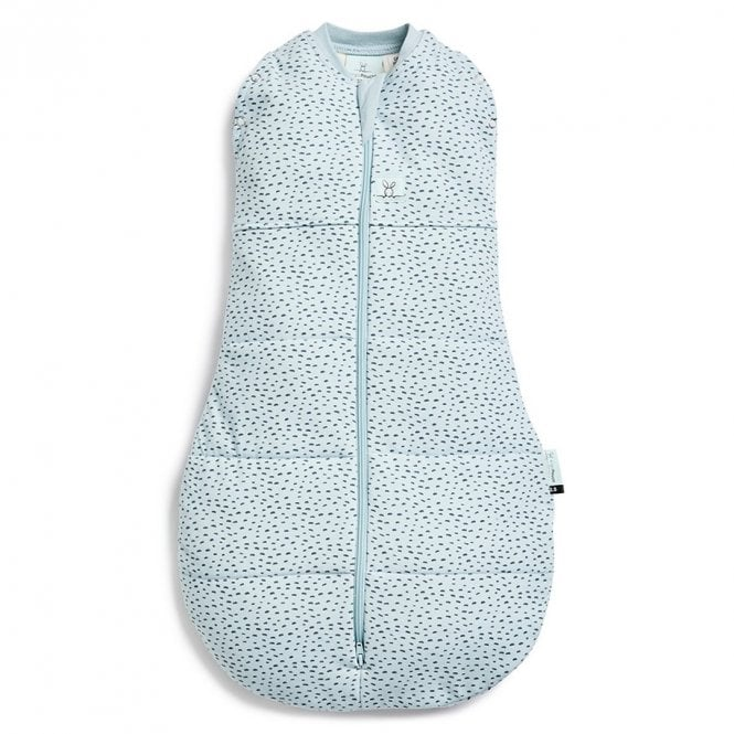 Cocoon Winter Swaddle Sleep Bag 2.5 Tog - Pebble - 0-3 Months