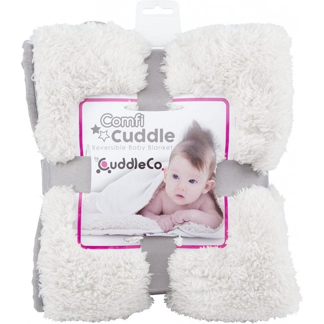 Comfi Cuddle Super Soft Reversible Blanket - Pebble