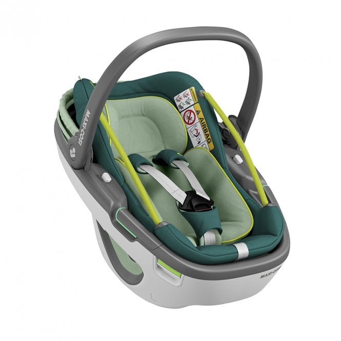 Coral Car Seat - Neo Green