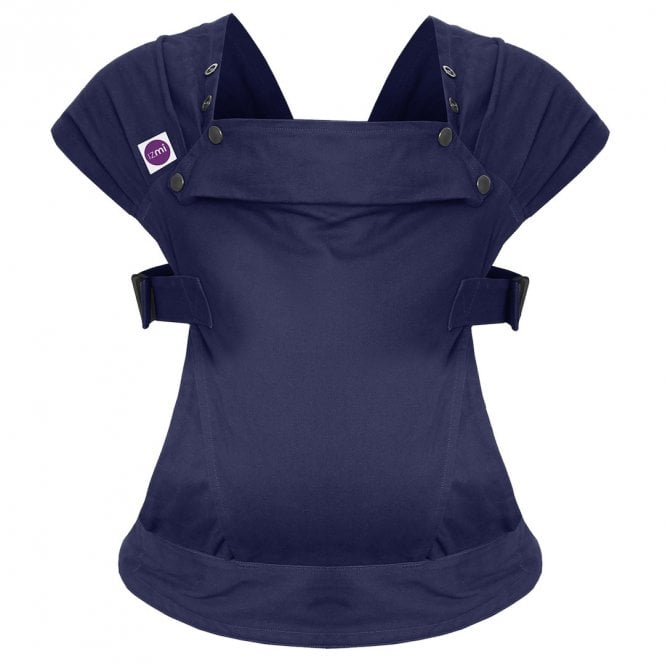 Cotton Baby Carrier - Midnight Blue