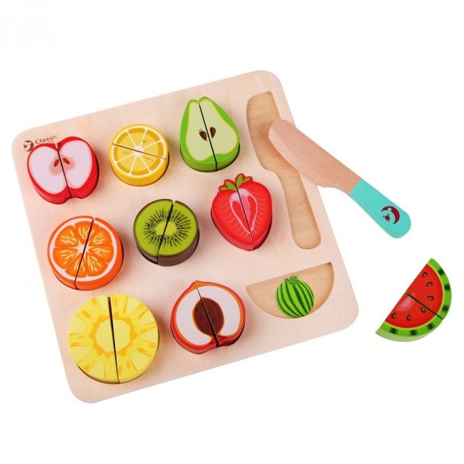 Cutting Fruits Puzzle