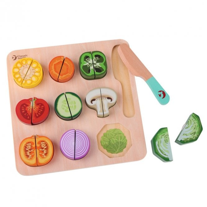 Cutting Vegetables Puzzle