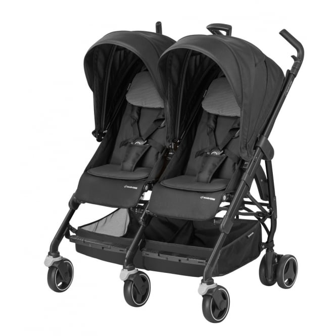 Dana For2 Twin Pushchair - Black Raven