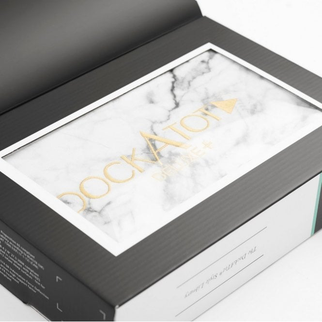 Deluxe+ Dock Spare Cover - Specialty Prints - Carrara Marble