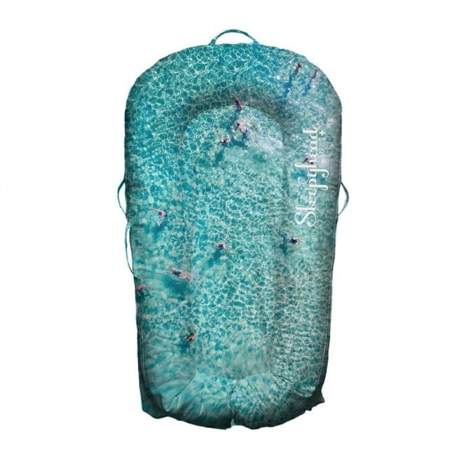 Deluxe Plus Baby Pod, 0-8 Months - Seascapes - Splash
