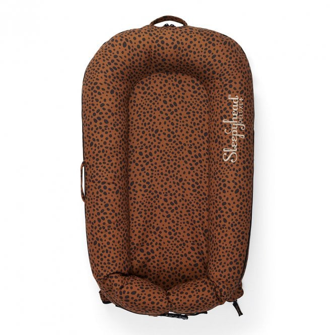 Deluxe Plus Baby Pod, 0-8 Months - Wild At Heart - Bronzed Cheetah