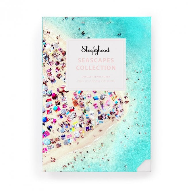 Deluxe Plus Replacement Cover - Seascapes - Life's A Beach