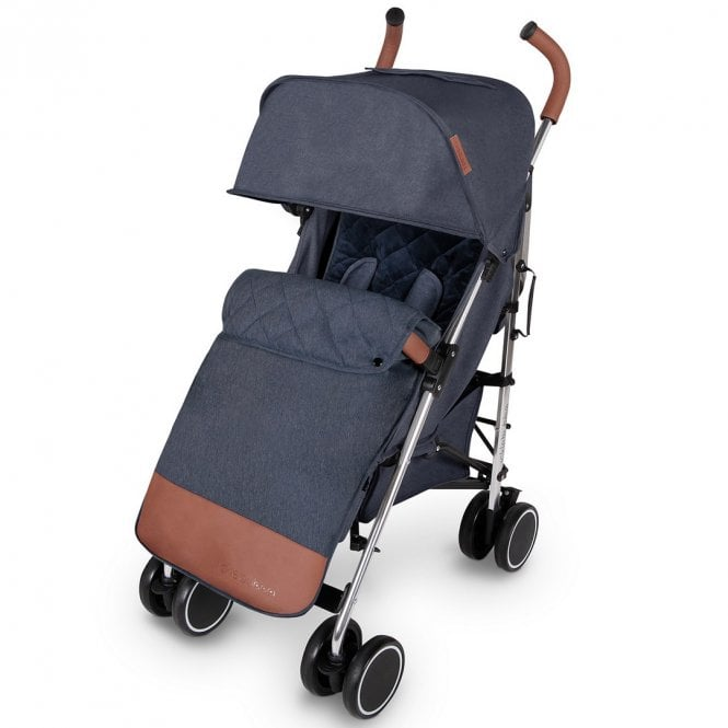 Discovery Max Pushchair - Denim Blue On Silver